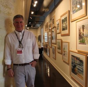 Robert Leedy in Southlight Gallery