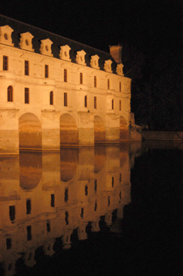 """Château Chenonceau at Night"", 2003, Photo by Robert Leedy"
