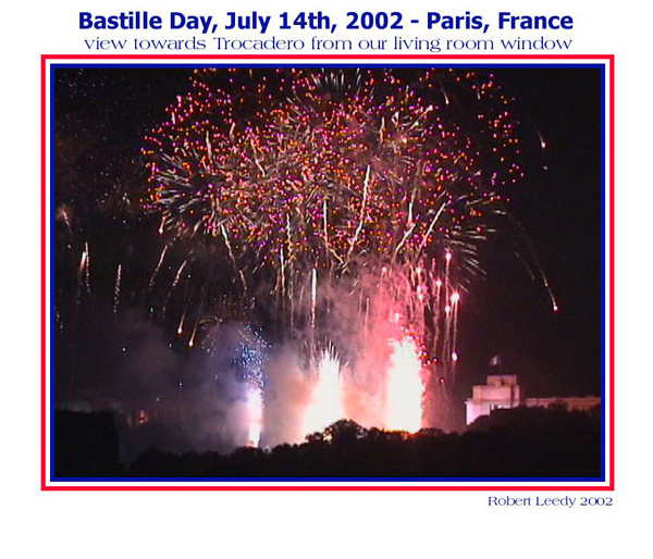 """Bastille Day, July 14, 2002 - Paris, France"", photograph by Robert Leedy, 2002"
