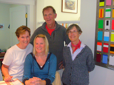 Kathy Dewey, Emily Dewey, David Dewey, Christy Gallagher