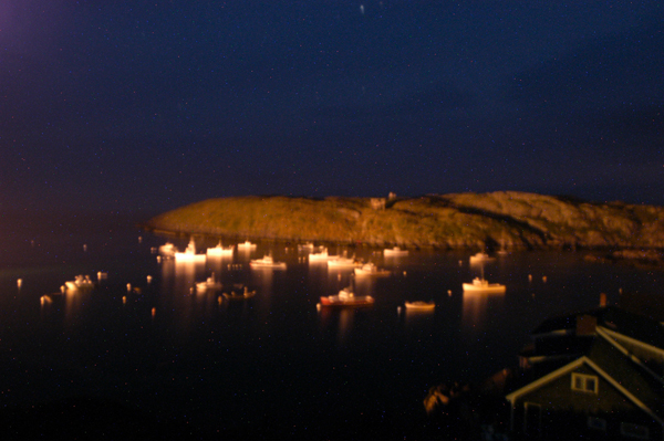 """Monhegan Nocturnal Series"" by Robert Leedy, 2008."