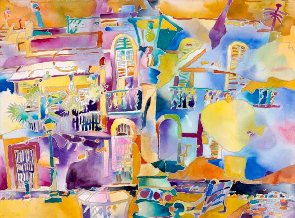 """Calle San Sebastián, Viejo San Juan"", by Robert Leedy, 2008, archival gicleé print on Hahnemühle William Turner 310 gsm paper, from a limited edition of 20, signed by the artist, $325.00"