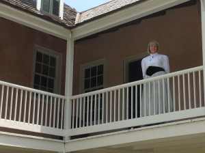 Cathy, dressed in period costume, was our gracious hostess at The Ximenez-Fatio House.