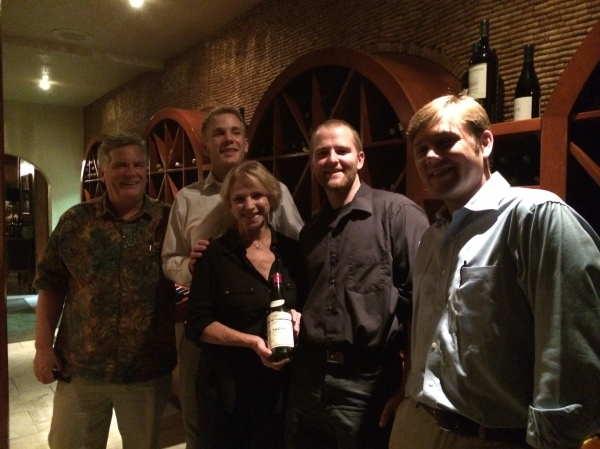 Big night at The Wine Cellar - tasting the 1970 Domaine de la Romanée-Conti la Tache!