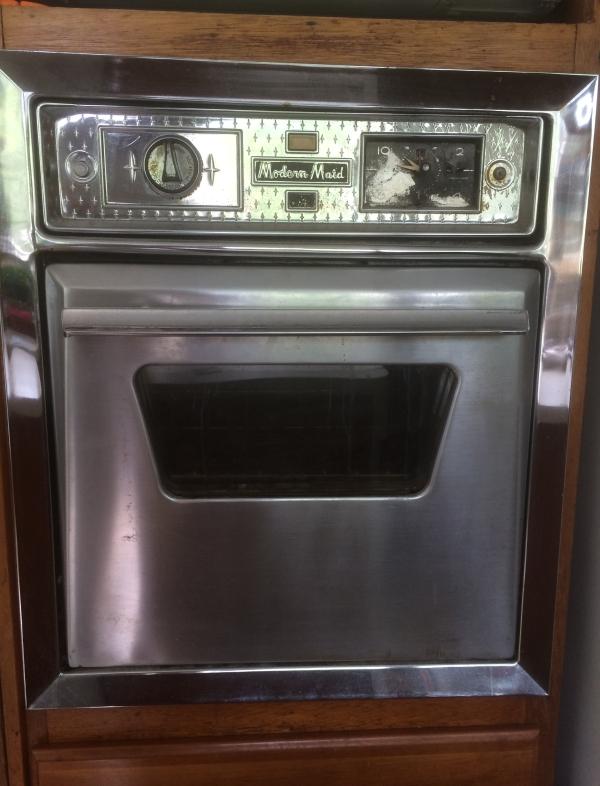 The original oven.